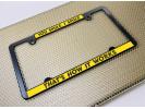 All States Car Metal License Plate Frames