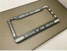 American Flag - Aluminum Car License Plate Frames