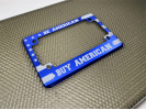 American Flag - Anodized Aluminum Motorcycle Frames