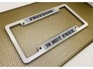 CNC Machined Anodized  Aluminum Frames - Double Badge