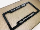 CNC Machined Anodized  Aluminum Frames - Black Edition - Large