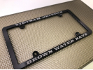 CNC Machined Anodized  Aluminum Frames - Black Edition - Slim