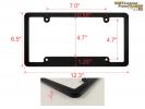 CNC Machined Patriotic Anodized Aluminum Frames - Medium