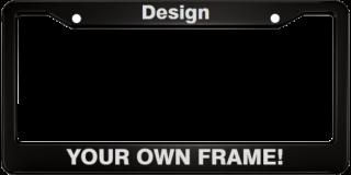 Anodized Aluminum Car License Plate Frames