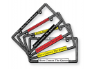 Crystal Car Metal License Plate Frames