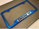 Narrow Top  Car Aluminum License Plate Frames