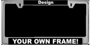 Narrow Top Car Metal Frames