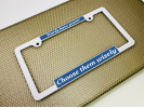 Elegance - Car Metal License Plate Frames