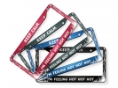 Flames - Aluminum Car License Plate Frames