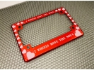 Hearts - Anodized Aluminum Motorcycle Frames