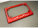 Love Pets - Anodized Aluminum Motorcycle Frames