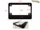 CNC Machined Anodized Aluminum Motorcycle Frames - Medium