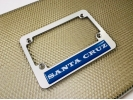 CNC Machined Anodized Aluminum Motorcycle Frames - Clear Dome