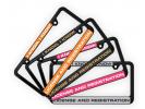 Narrow Top Car Plastic Frames
