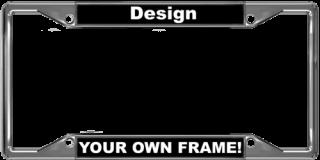 Car 4-Hole Metal Frames