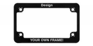 CNC Machined Anodized Aluminum Motorcycle Frames - Slim