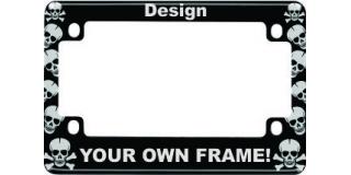 Skulls - Anodized Aluminum Motorcycle Frames