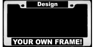 Standard Car Flat Shape Metal Frames
