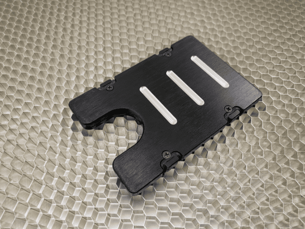 U.S. Veteran - Anodized Aluminum Credit Card Holder