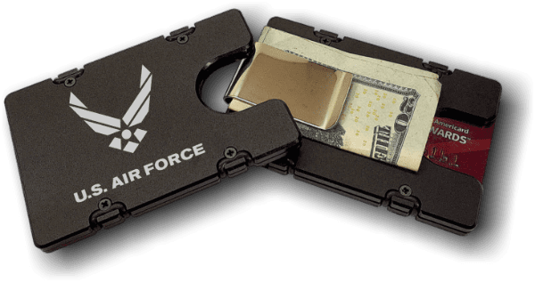 US Air Force - Anodized Aluminum Credit Card Holder