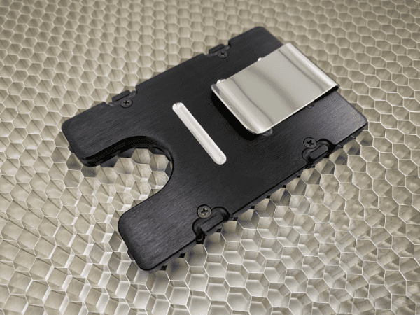 US Navy - Anodized Aluminum Credit Card Holder
