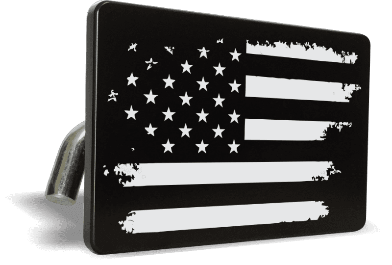 American Flag - Tow Hitch Cover