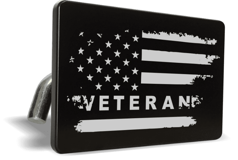 United States Veteran - Tow Hitch Cover