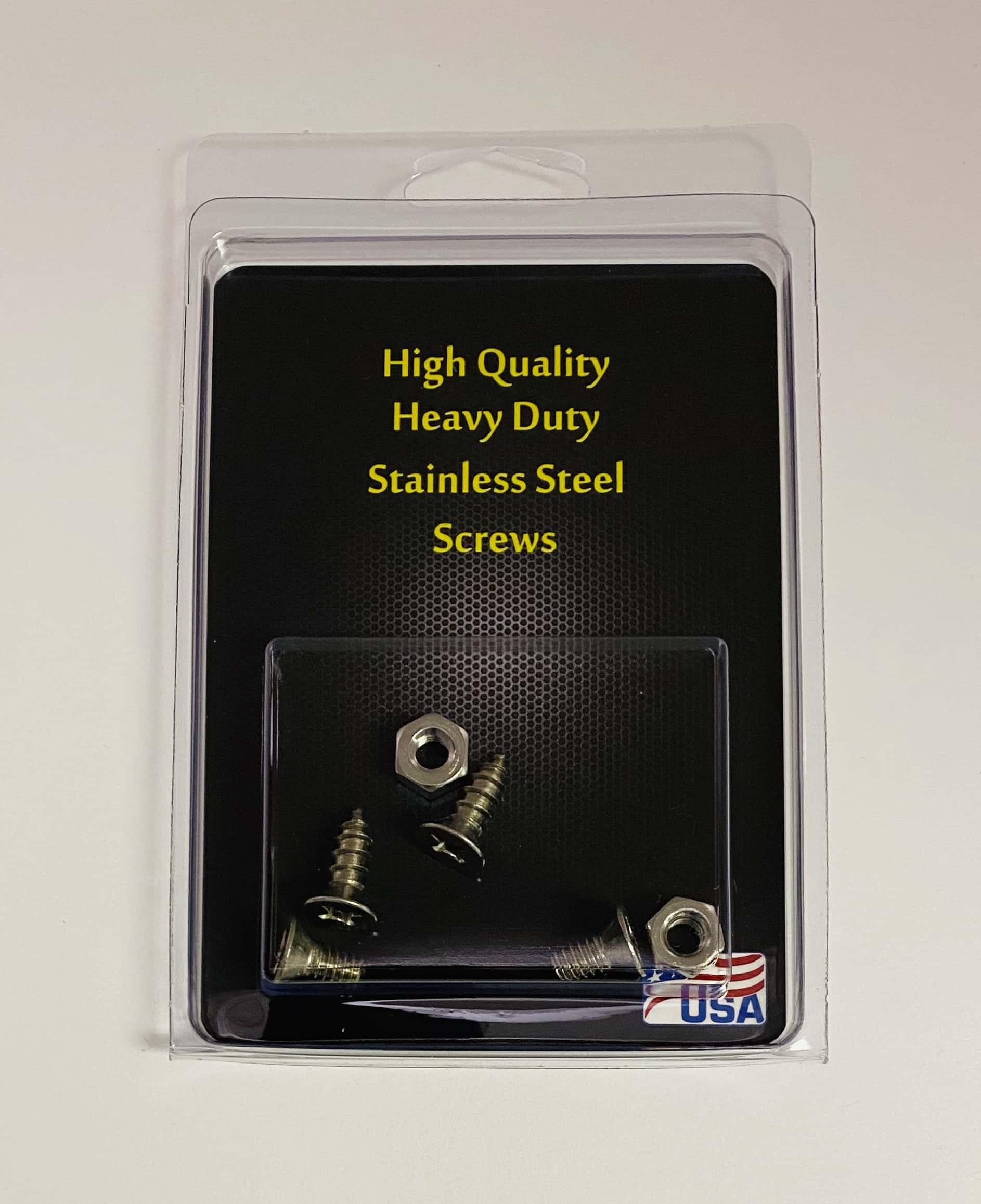 Stainless steel screws - Steel (for CNC frames only)