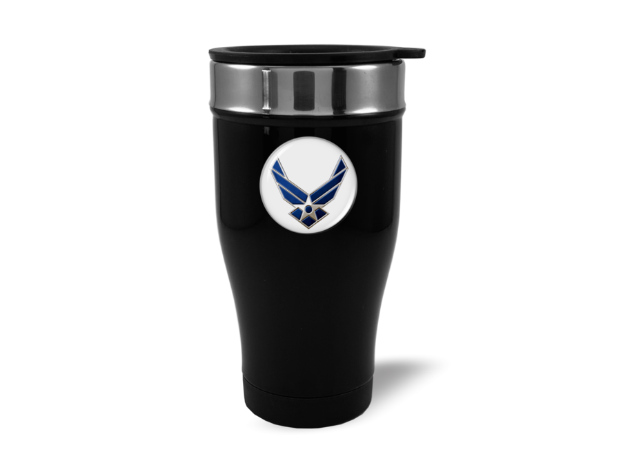 Travel Mug with U.S. AIR Force Logo
