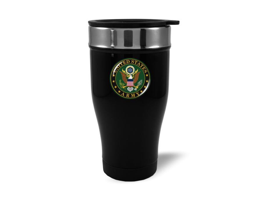 Travel Mug with U.S. Army Logo (b/g)