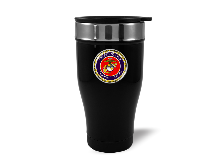 Travel Mug with U.S. Marine Corps (be)